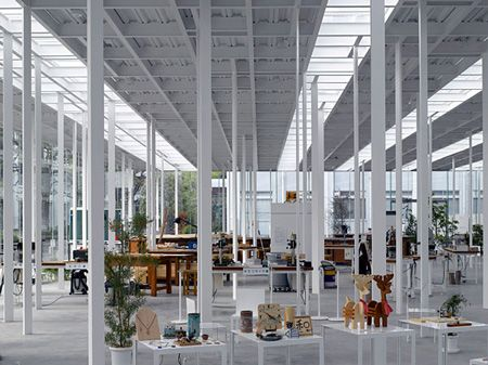 Kait workshop at Kanagawa Institute of Technology in Japan by Junya Ishigami Architects