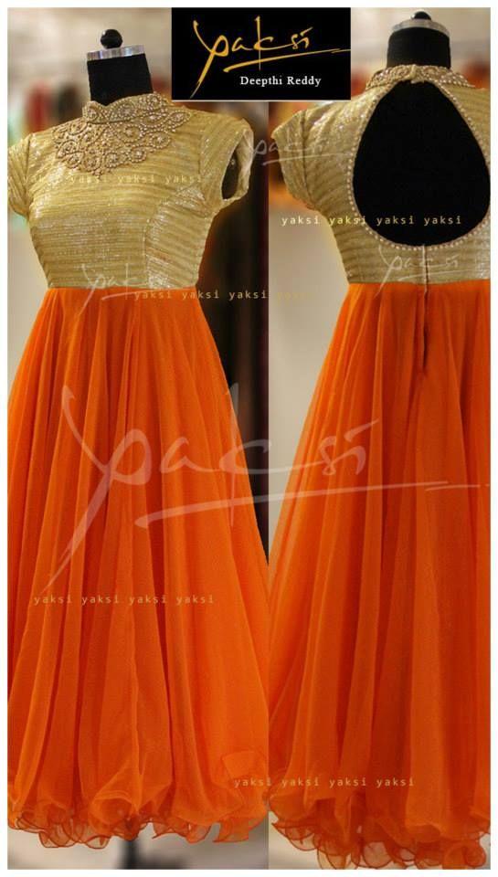 Gold + Orange