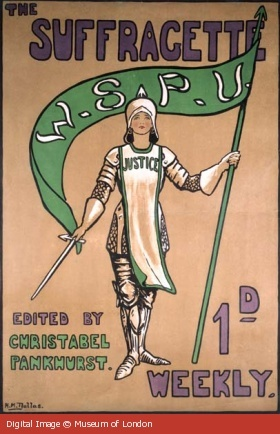 The Suffragette Weekly. Edited by Christabel Pankhurst