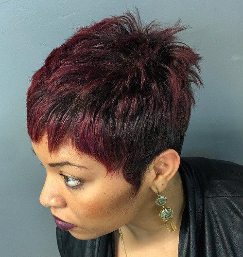 girls hair styles for school 25 best ideas about brown pixie hair on brown 5700 | fb2049f5700c57765424c48465dffed5 burgundy top hairstyles