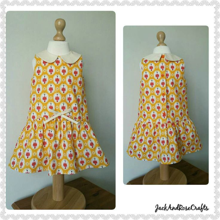 New listing ~ cute cat dress with a vintage feel. A great colour for all seasons.