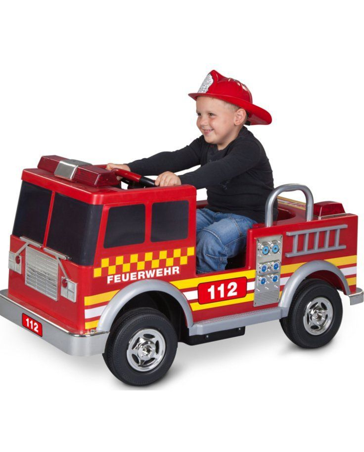 Hilfe Es Brennt Kinder Elektroautos Sind Das Absolute Spielzeug Highlight Fur Den Sommer Das Elektro Feuerwehrauto Vo Elektroauto Feuerwehrauto Feuerwehr