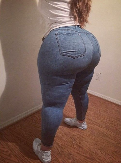 Thick Dame Thighs And Massive Booty  Curves Unjustified -4882