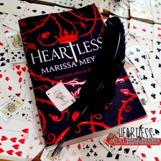 Reseña: Heartless- Marissa Meyer - Libros con magia