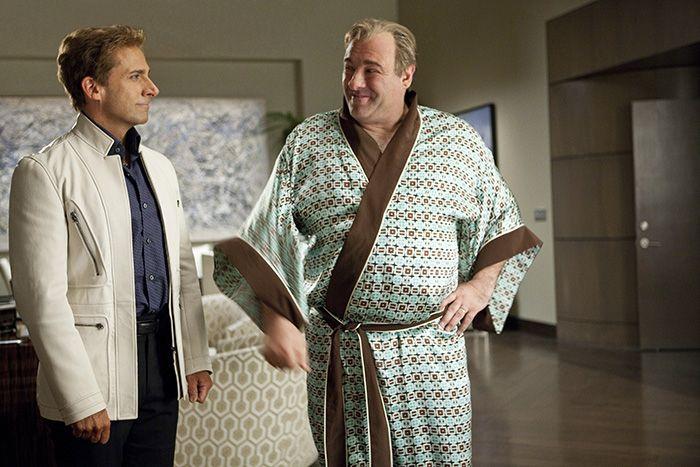 Cineast: Стив Карелл и Джеймс Гандольфини снимутся в комедии «Костяные войны»