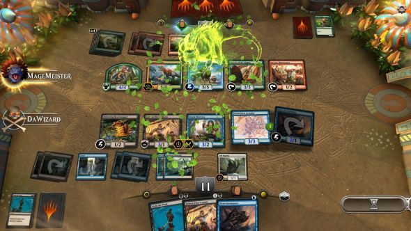 Magic: The Gathering Arena will eventually add new cards the same day as the physical game  ||  Digital versions of Magic: The Gathering have always filled an odd spot, be it the direct translation that is Magic Online or the more casual option presented by Duels of the Planeswalkers until recen https://link.crwd.fr/4nji