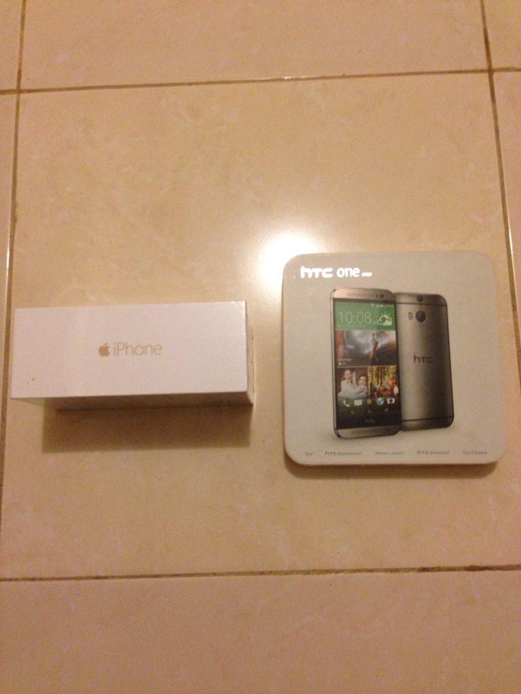 iPhone dan HTC one M8