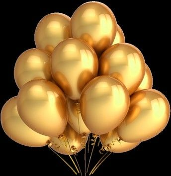 """36 Pcs - 12"""" Metallic Gold Birthday Wedding Party Decor Latex Balloons Ceremony Table Top Ceiling Arch Decoration $15"""