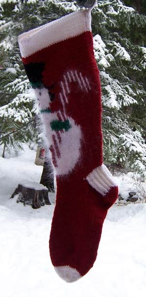 Knitted Christmas stockings - Canadian Living