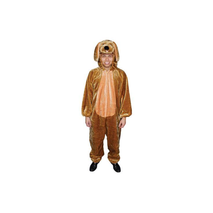Halloween Men's Puppy Costume, Multi-Colored