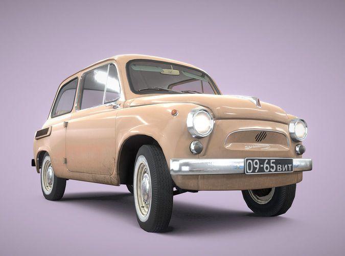 Car ZAZ-965 russian retro car 1960-69
