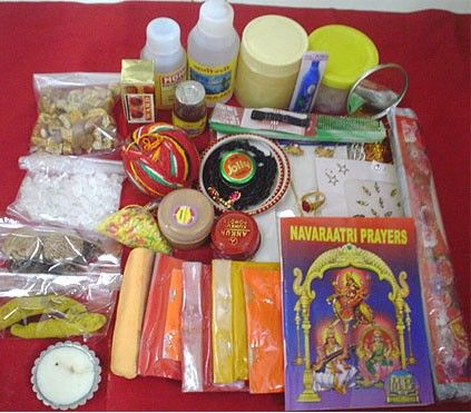 Durga Puja Kit, Buy Devi Pujan Kit Online. Vedicvaani. Get authentic and complete navratri puja kit for maa ambe at low price from india