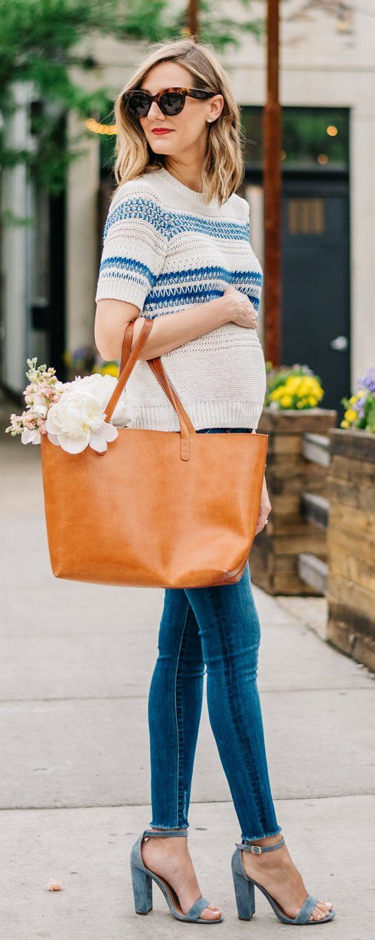 #spring #outfits As requested, my maternity style tips are on the blog – and I'm …   – Beauty & Fashion