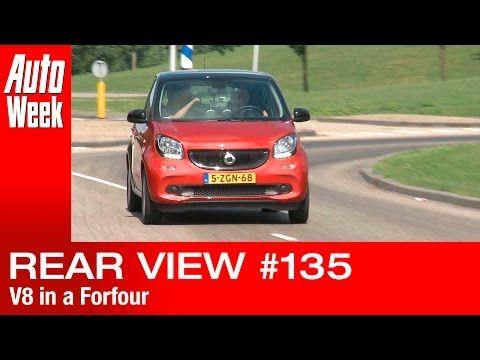 Achteruitkijkspiegel - 'Dikke V8 in een Forfour kan prima' - YouTube