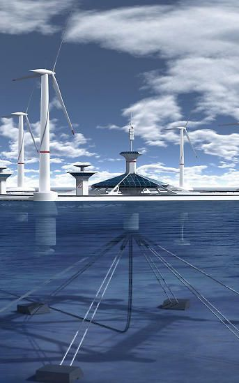 Malta considers a floating wind farm. Just add electrolyses and there is hydrogen.