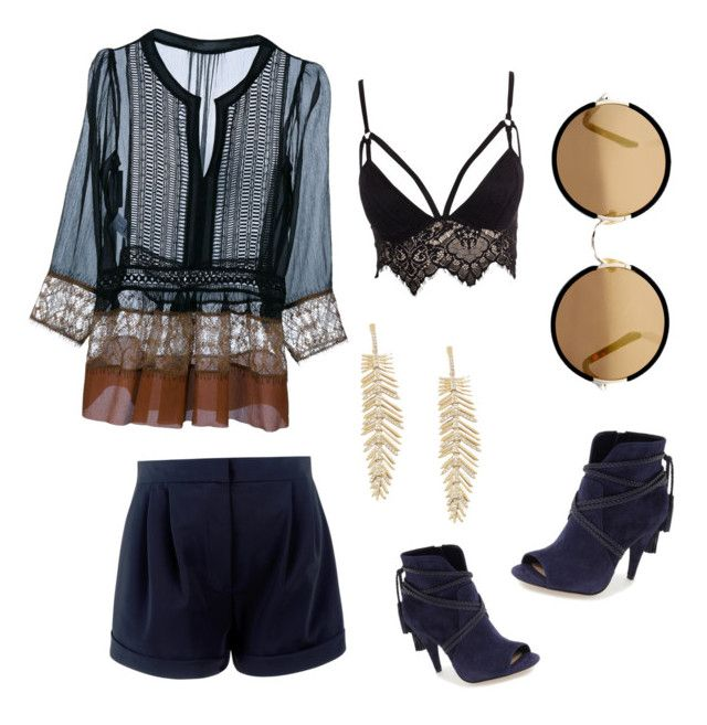 """""""Untitled #58"""" by fhk21 on Polyvore featuring Alberta Ferretti, Sunday Somewhere, BCBGMAXAZRIA, Vince Camuto and Club L"""
