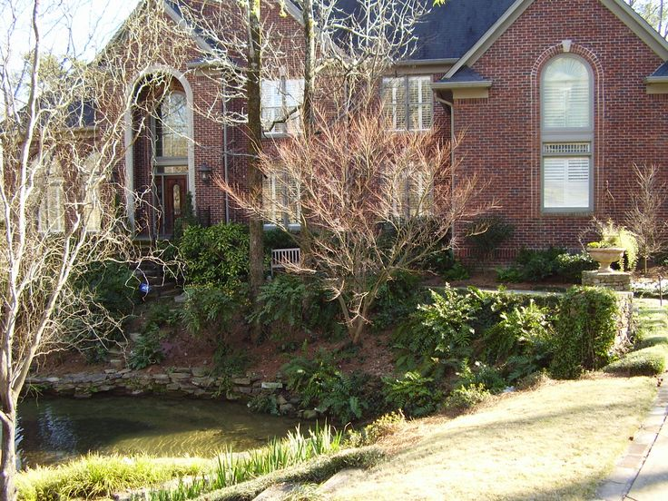 Pond, Rockwork And Landscape Design By Andyu0027s Landscape Service In  Birmingham, AL. Japanese