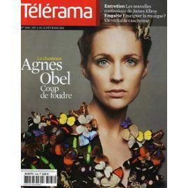 Télérama N° 3186 : Agnes Obel, James Elleroy, Odile Decq, Thierry Jonquet, Lola Doillon.