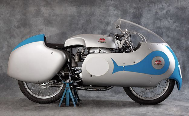 1956 FB-Mondial: the very machine that took Tarquinio Provini to second place in the 1957 250cc Grand Prix