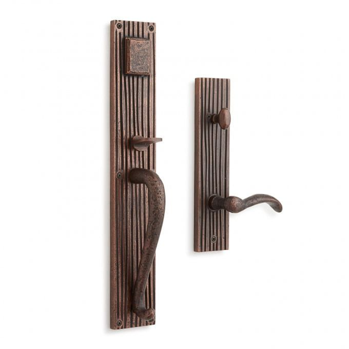 Shima Solid Brass Entrance Set With Lever Handle Door Handles And Locks Hardware Solid Brass Lever Handle Door Handles And Locks