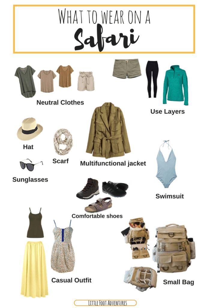 What to wear on a Safari | Africa | little foot adventures