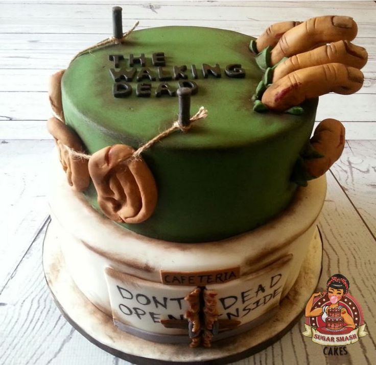Images Walking Dead Cakes