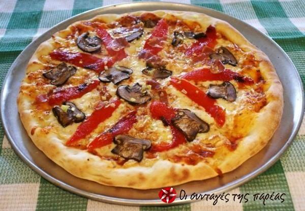 Πίτσα η Φανταστική #sintagespareas