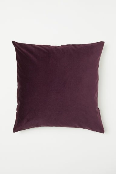 260975d9812ad Linen and Velvet Cushion Cover in 2019 | throw pillows + blankets ...