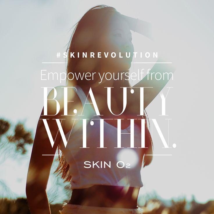#SkinRevolution True beauty is found within.