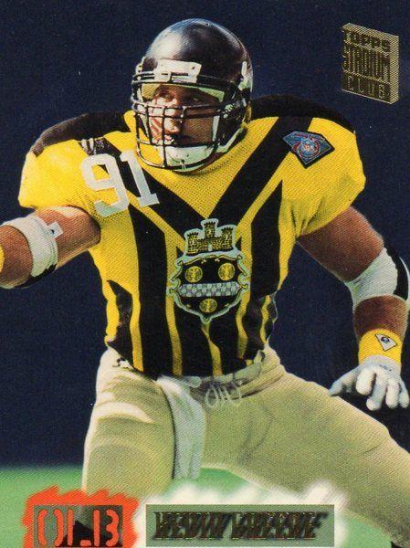 1995 Topps Football Card Steelers Kevin Greene