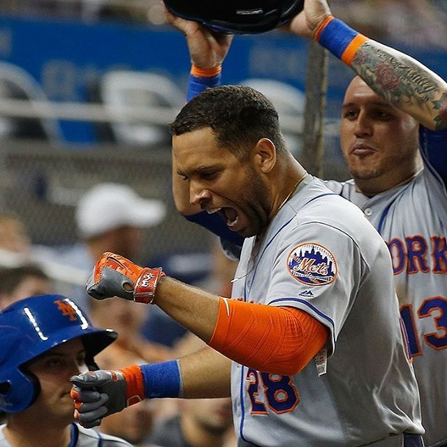 What a comeback win for the Mets. James Loney with a two run home run to give the mets a huge win today against the phillies. Despite the adversity the Mets are going back to the playoffs. I love this team man. LETS GO METS  #jamesloney #7 #cespedes #win #lgm #lgm #terrycollins #cespedes #52 #homerun #believe#back #wow #followforfollow #followme #mets #baseball #adversity #team #love #hope #faith #drive #fun#clintch #playoffs