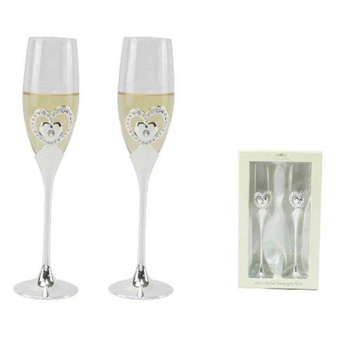 Leonardo Heart Champagne Flutes