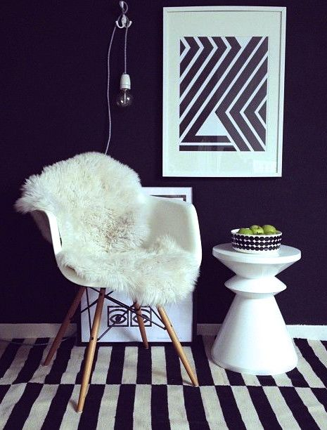 Via Romana   RK Design 'Wild Stripes' Print   Ikea Rug   Eames   Marimekko   Olle Eksell