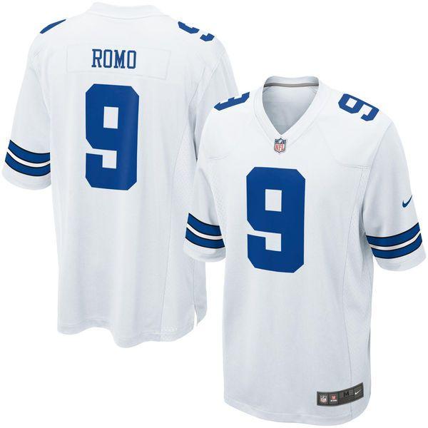 Tony Romo Dallas Cowboys Nike Youth Game Jersey – White - $74.99
