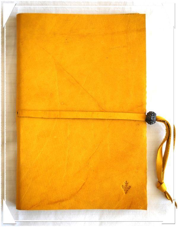 Leather Journal by Lizzy Wurmann