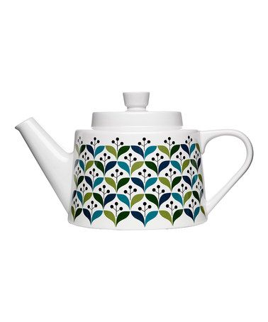 Take a look at this Retro Tea Pot by Sagaform on #zulily today!