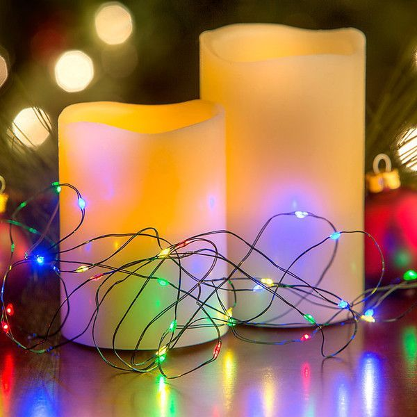 Improvements Micro Christmas LED Light String-30 - Warm White ($497