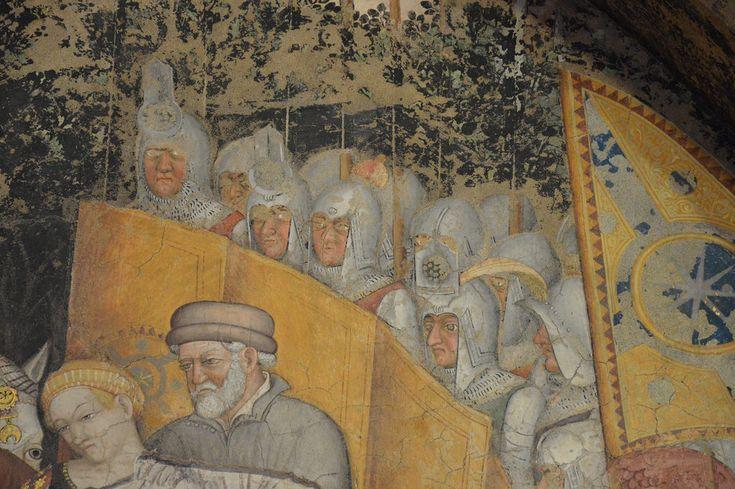 Foligno (PG) Palazzo Trinci. Gentile da Fabriano e collaboratori, 1411-1412 ca