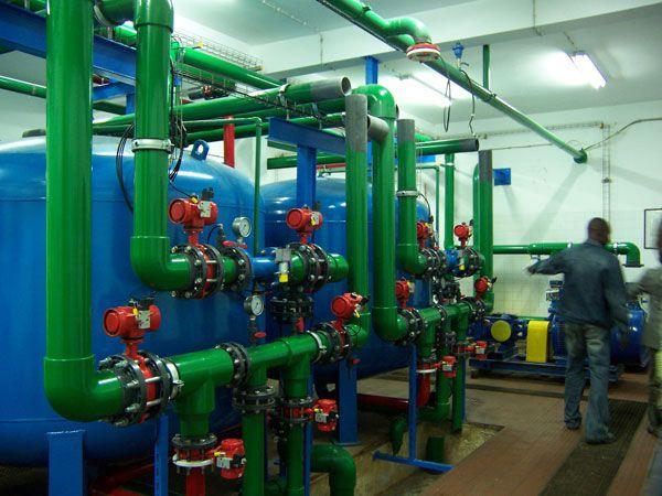 Eurofinsa. Abastecimiento de agua potable a 9 comunas de Benguela