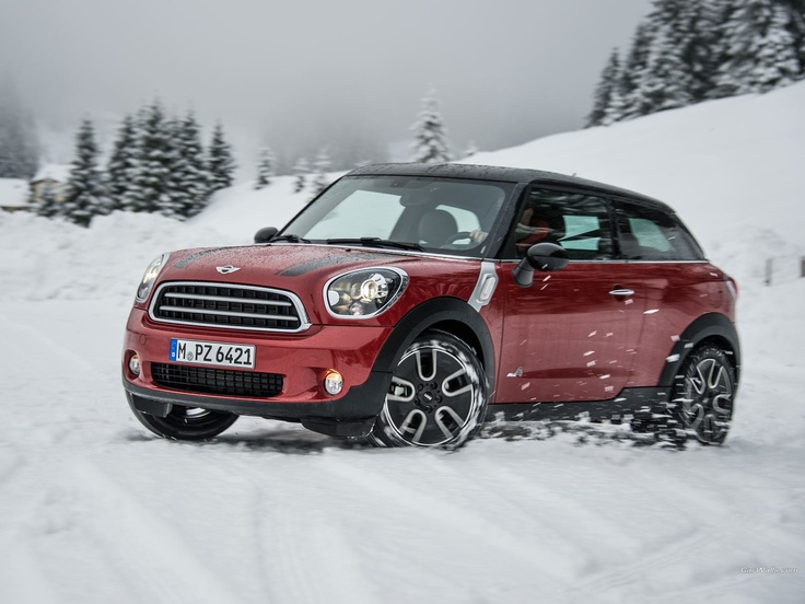 Mini Cooper D Paceman......ski country, here I come ! :)