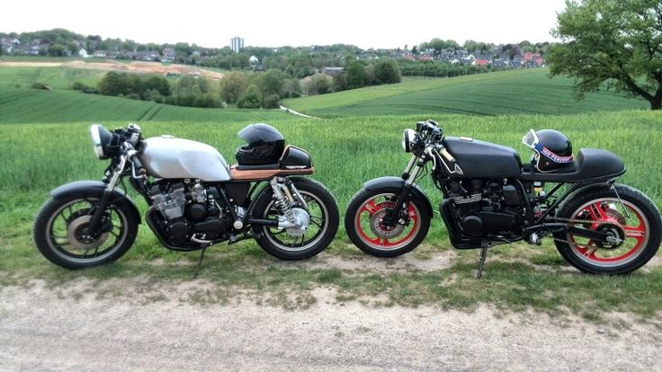Our two First projects. ... #xj650, #gpz550