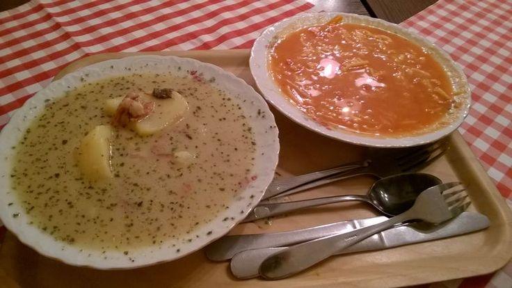 Zupa pomidorowa, soupe de tomate polonaise   Voyage à #Cracovie, en #Pologne