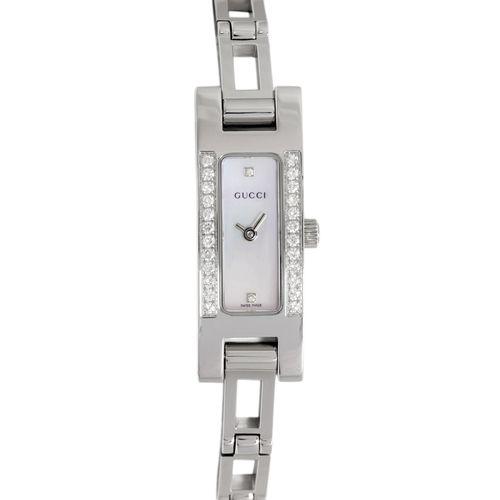 gucci 3900l. gucci 3900l stainless steel \u0026 diamond ladies watch 3900l