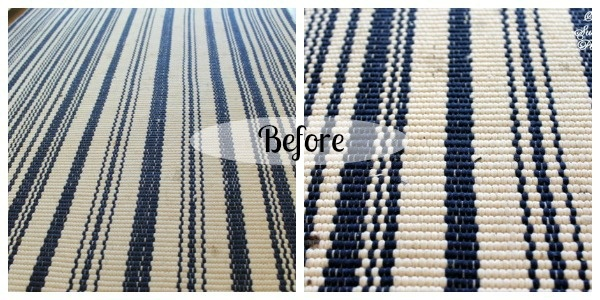 how to clean dash and albert cotton rugs