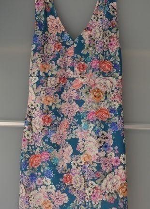 Kup mój przedmiot na #vintedpl http://www.vinted.pl/damska-odziez/krotkie-sukienki/13626055-pullbear-sukienka-kwiaty-prosta-olowkowa
