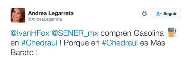 Compra tu gasolina en Chedrahui, porque es más barata. | La Secretaría de Energía dio una solución mediocre al gasolinazo, y Twitter respondió con todo