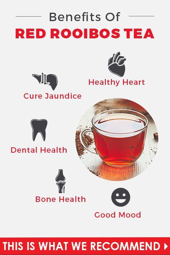 Red Tea Detox Diet Weight Loss Rooibos Bush Benefits