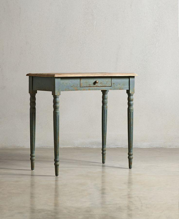 The MARYLEBONE Desk - Cornflower Blue - swooneditions.com