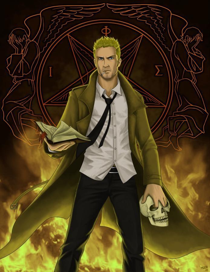 Constantine By Cordania On Deviantart John Constantine Justice League Dark Constantine