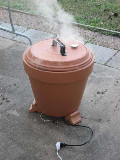 DIY Terra Cotta Meat Smoker {Tutorial}